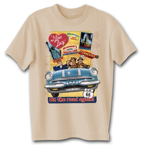 I Love Lucy On the Road Tee