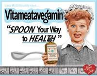 Lucy Vita Spoon Tin Sign