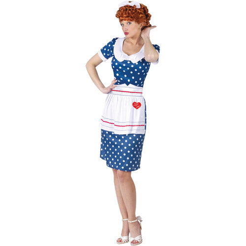 I Love Lucy: Polka Dot Dress Sassy Costume - Size Small/Medium