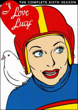 I LOVE LUCY Season 6 DVD Set