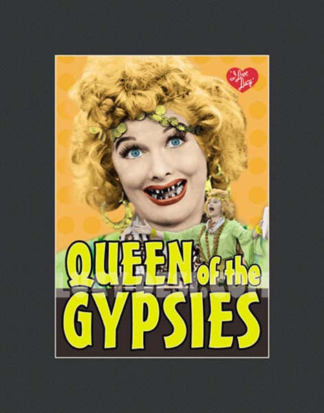 Gypsy Queen Framed Lithograph
