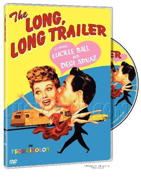 The Long Long Trailer (DVD)
