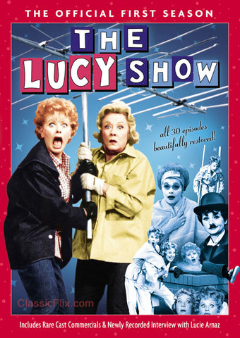 The Lucy Show Season 1 DVD