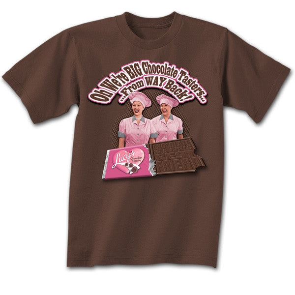 I Love Lucy Choc Factory T