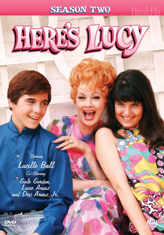 Here's Lucy Season 2 DVD