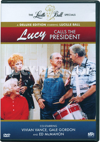 Lucy Calls the President DVD