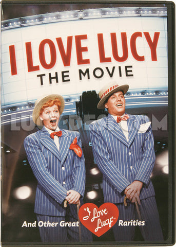 I Love Lucy Movie DVD