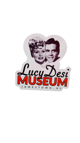 Lucy Desi Center Logo Magnet