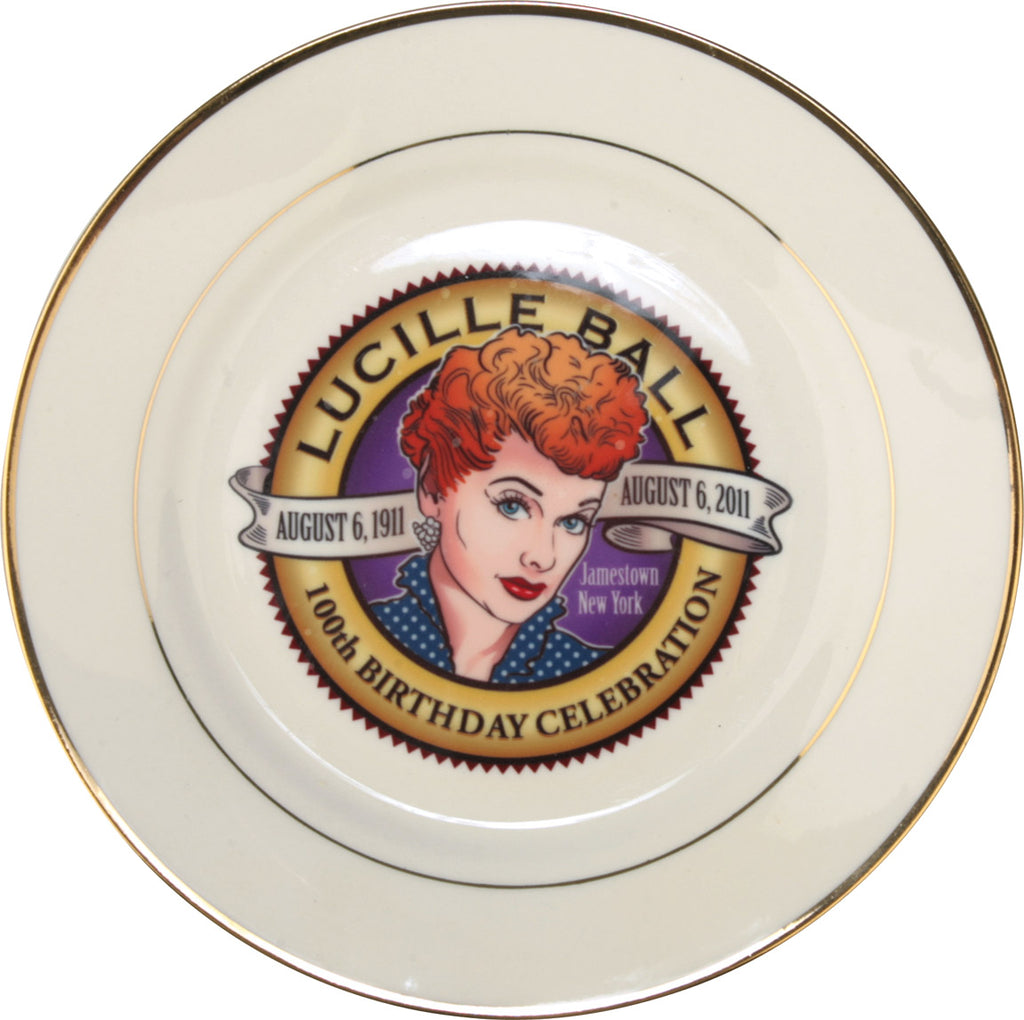 Lucille Ball 100th Seal Plate