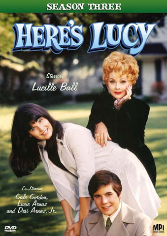 Here's Lucy Season 3 DVD