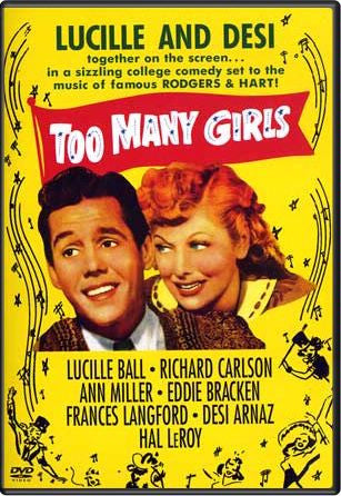 I Love Lucy Too Many Girls