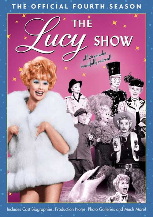 The Lucy Show Season 4 DVD