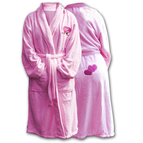 I Love Lucy Plush Bathrobe