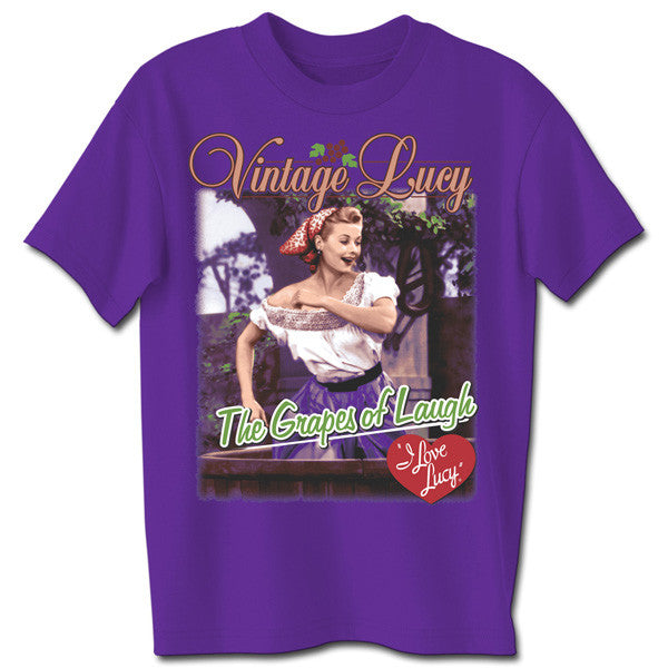 I Love Lucy Grapes of Laugh T