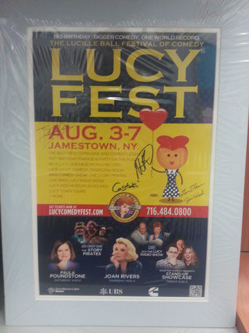 Lucy Fest 2011 Matted Posters