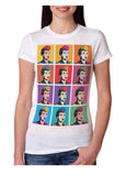 Lucy Portrait-Multi T-Shirt