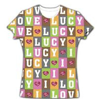 Lucy Block Letters Tee