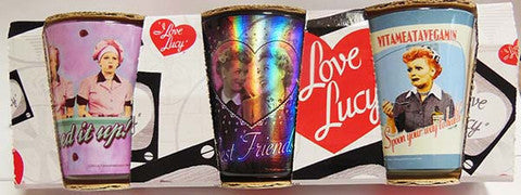 I Love Lucy Shot Glass Set