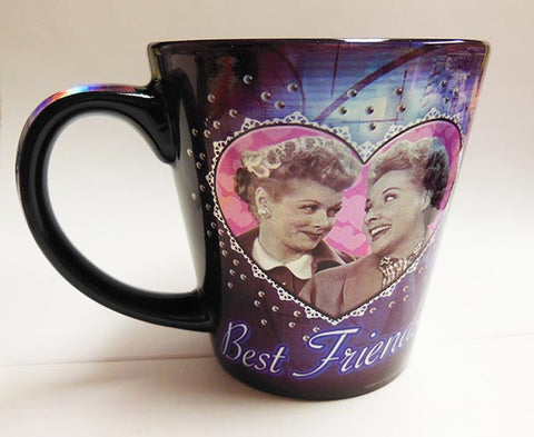 Best Friends Metallic Mug