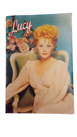 Vintage Lucille Ball Poster
