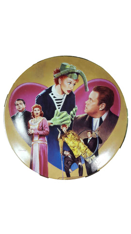 I Love Lucy Welles Plate 1998