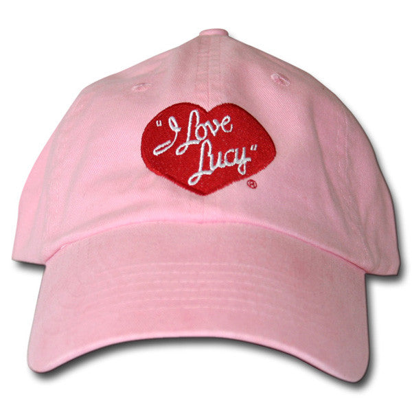 I Love Lucy Logo Hat White