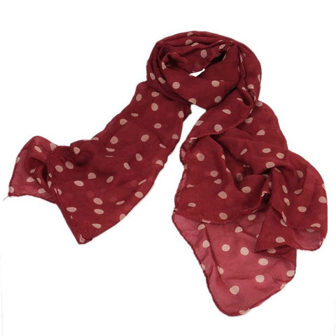 Red Dot Scarf