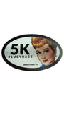 Lucytown Race Sticker