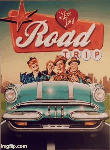 Lucy LED Road Trip Canvas