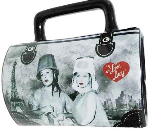 Lucy and Ethel Purse Mug