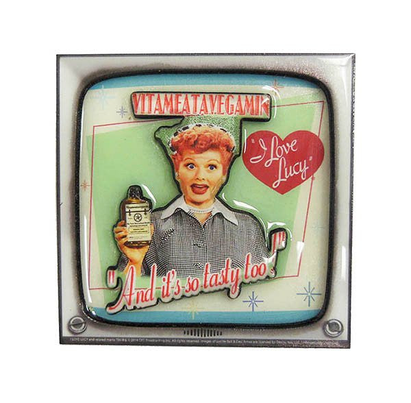 I Love Lucy 3D Magnet