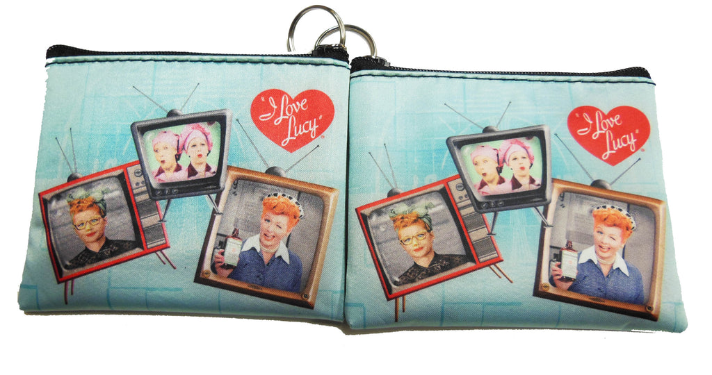 I Love Lucy TV Coin Purse