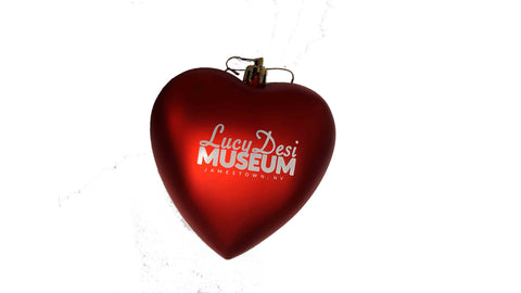 Lucy Desi Museum Heart Orn