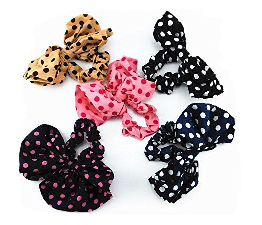 Lucy's Polka Dot Hair Bows