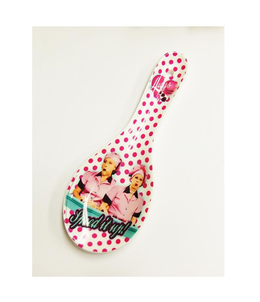 Lucy Polka Dot Spoon Rest