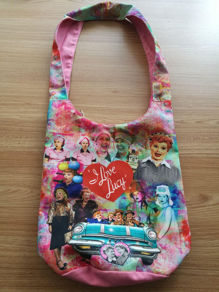 Lucy & Friends Collage Tote