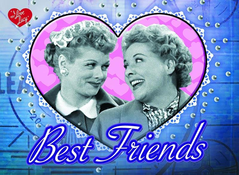 Lucy & Ethel BF Magnet