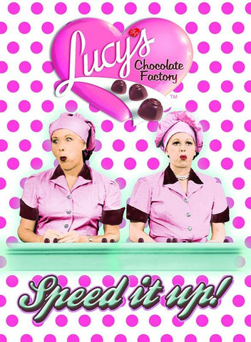Lucy Choc. Polka Dot Magnet