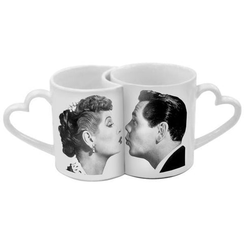 Lucy & Desi Kissing Mugs