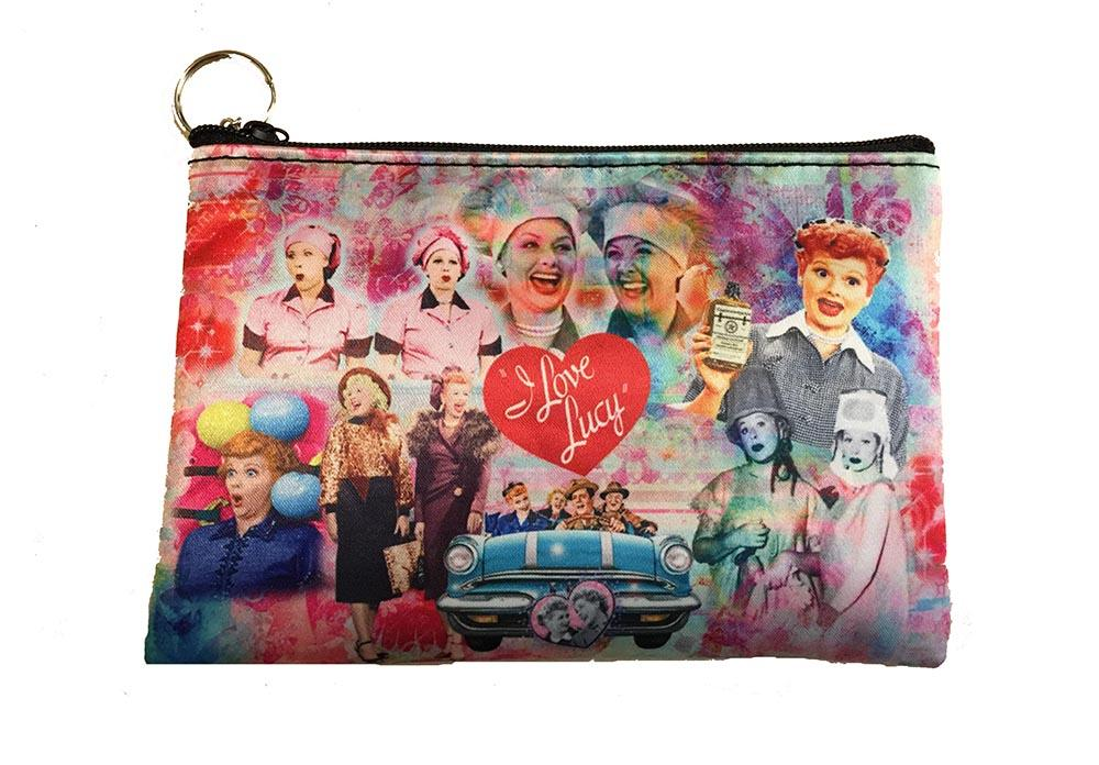 I Love Lucy: Lucy & Friends Collage Make up Pouch