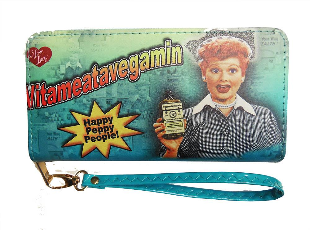 I Love Lucy: Vitameatavegamin Peppy People Wallet