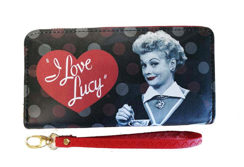 I Love Lucy: Black & Red Wallet