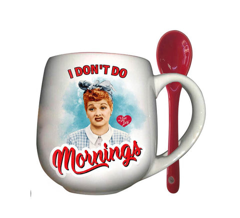 Lucy I Don't Do Mornings Mug