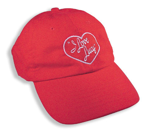 I Love Lucy Logo Hat