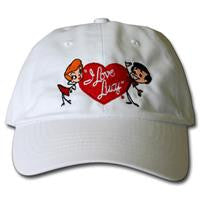I Love Lucy Stick Figure Hat
