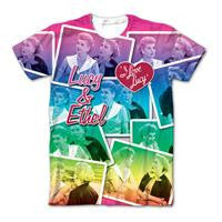 Lucy and Ethel Collage Tee