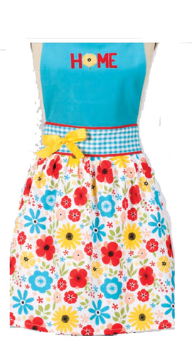 Lucy's Home Floral Apron