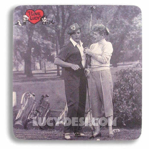 I Love Lucy Mouse Pad - Golf
