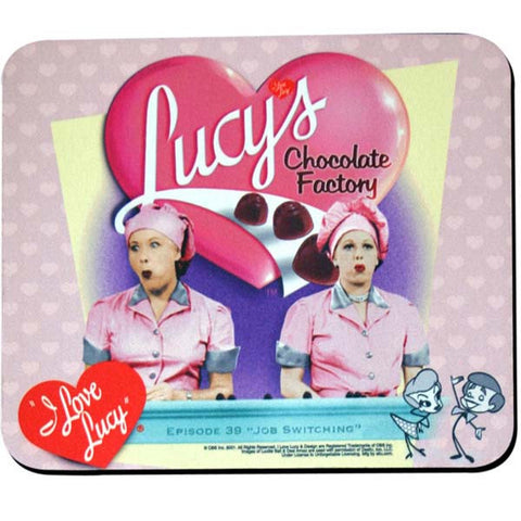 I Love Lucy Mouse Pad - Candy