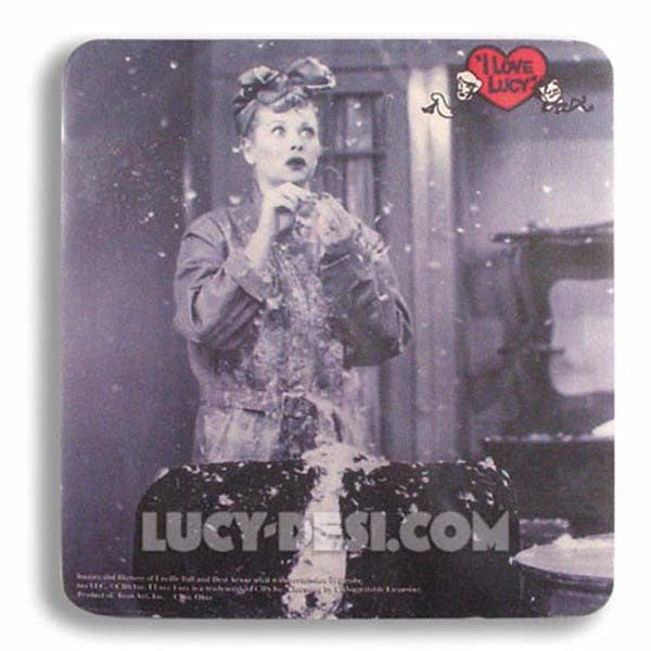 I Love Lucy Mouse Pad - Flying
